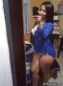 Desi Ladki ki -Nude selfie lene ka Saukh